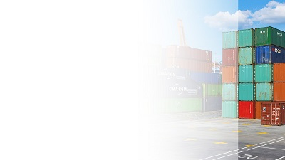 Red-Container Powerpoint background template-3